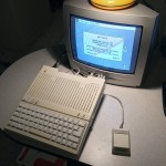 IIc Plus running Apple II Desktop Version 1.1