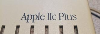 Apple IIc Plus Badge
