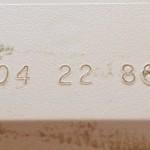 Animator Date Code - 04 22 86