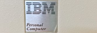 IBM 5150 Badge