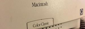 Mac Color Classic Front bezel