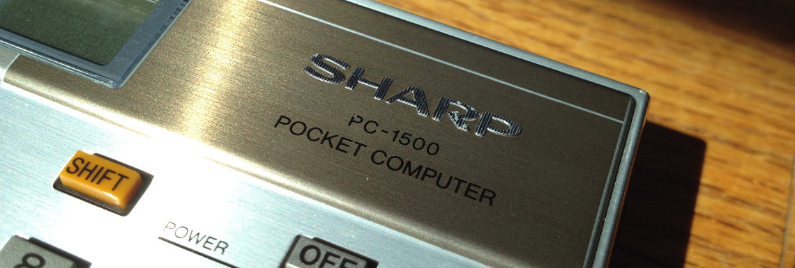 Sharp PC-1500 Pocket Computer