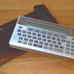 Sharp PC-1500 Pocket Computer, with case