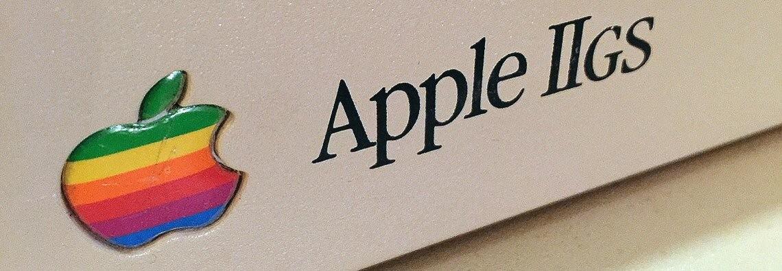 Apple IIgs Badge