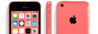 iPhone 5 Pink from three different angles.